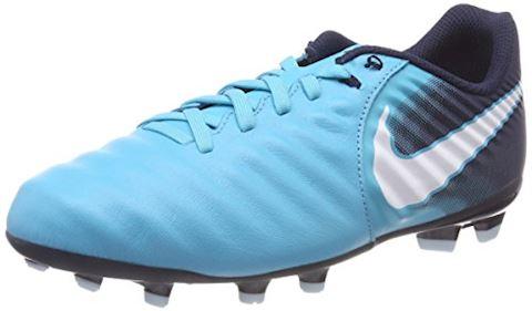 Nike Jr. Tiempo Ligera IV Older Kids'Firm-Ground Football Boot - Blue Image