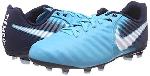 Nike Jr. Tiempo Ligera IV Older Kids'Firm-Ground Football Boot - Blue Image 5