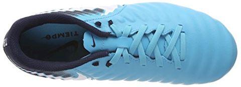 Nike Jr. Tiempo Ligera IV Older Kids'Firm-Ground Football Boot - Blue Image 7