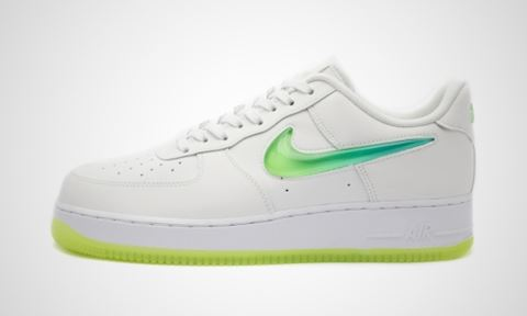huge discount 4cfe9 4d565 Nike Air Force 1 07 Premium 2 Jelly Swoosh White, ...