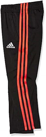 adidas Training Trousers Stripes 3S - Black/Solar Red Kids Image 3