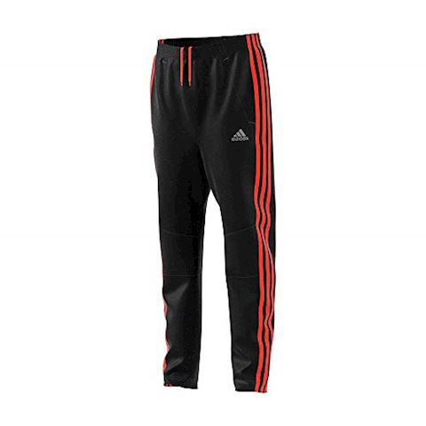 adidas Training Trousers Stripes 3S - Black/Solar Red Kids Image 4
