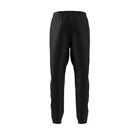adidas Training Trousers Stripes 3S - Black/Solar Red Kids Image 5