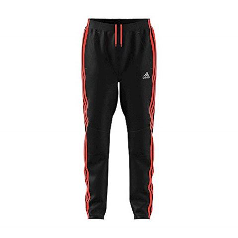 adidas Training Trousers Stripes 3S - Black/Solar Red Kids Image 6