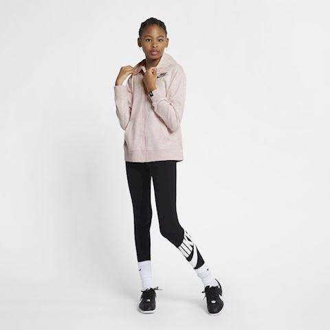 Nike Air Older Kids' (Girls') Full-Zip Hoodie - Pink Image 2