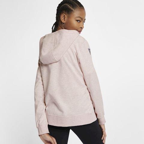 Nike Air Older Kids' (Girls') Full-Zip Hoodie - Pink Image 4