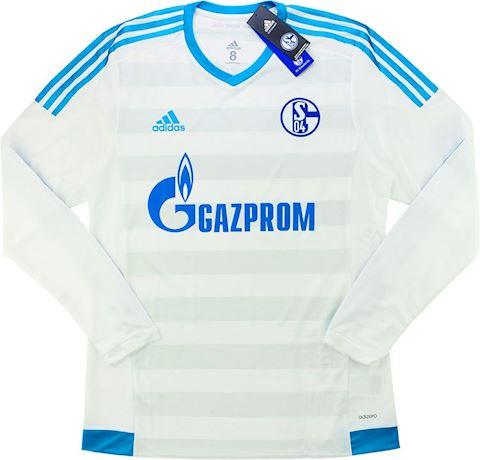 adidas Schalke 04 Mens LS Player Issue Away Shirt 2015/17 Image