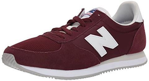 New Balance  U220  women's Shoes (Trainers) in Red