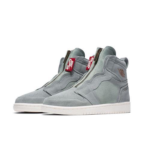 Nike Air Jordan 1 High Zip Women's Shoe - Olive Image 2