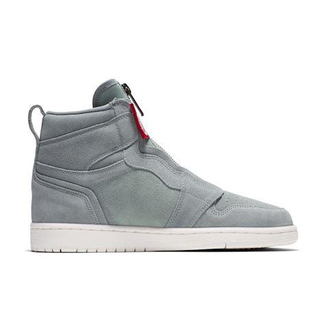 Nike Air Jordan 1 High Zip Women's Shoe - Olive Image 3