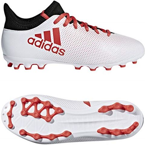 8f2f922adae adidas X 17.3 AG Cold Blooded - Footwear White Real Coral Core Black Kids
