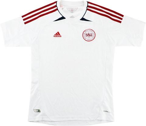 adidas Denmark Kids SS Away Shirt 2012 Image