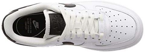 Women's Nike Air Force 1 '07 hite & Black Image 7