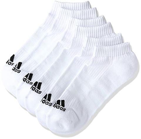 adidas 3-Stripes No-Show Socks 3 Pairs Image