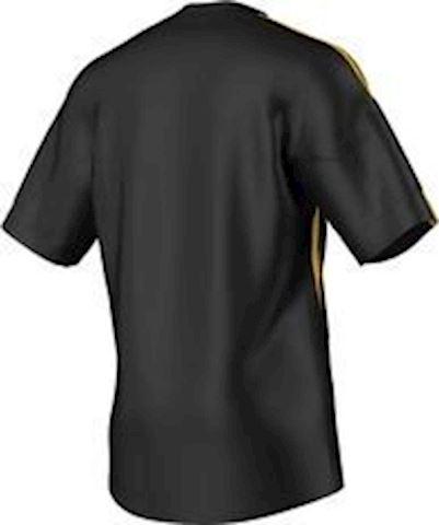 adidas Stricon SS Football Shirt Black Sunshine Image 3