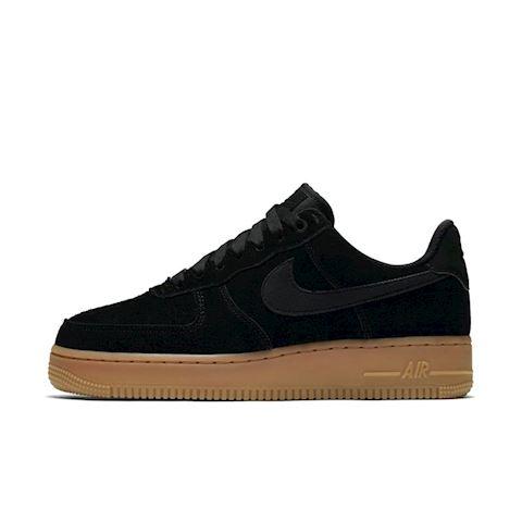 Nike Air Force 1' 07 SE Suede Women's Shoe - Black Image