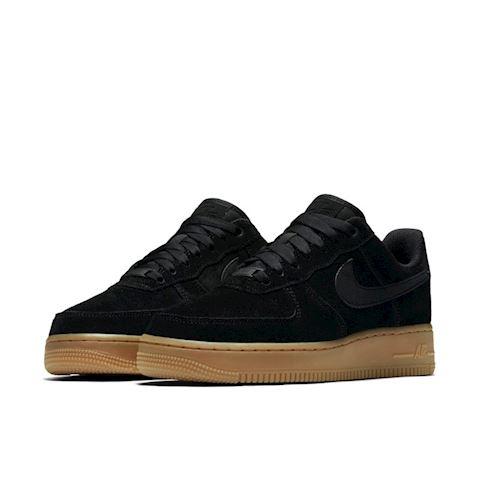 Nike Air Force 1' 07 SE Suede Women's Shoe - Black Image 2