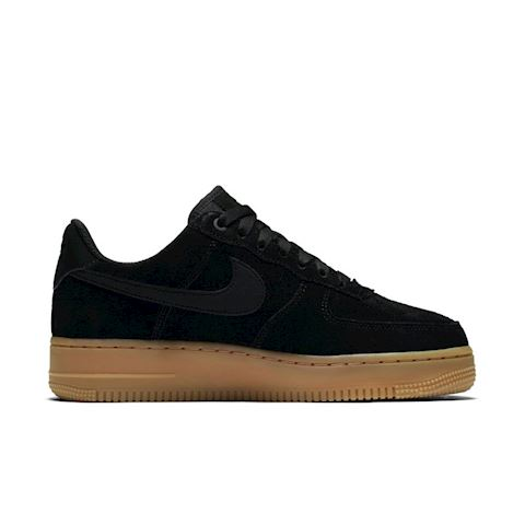 Nike Air Force 1' 07 SE Suede Women's Shoe - Black Image 3