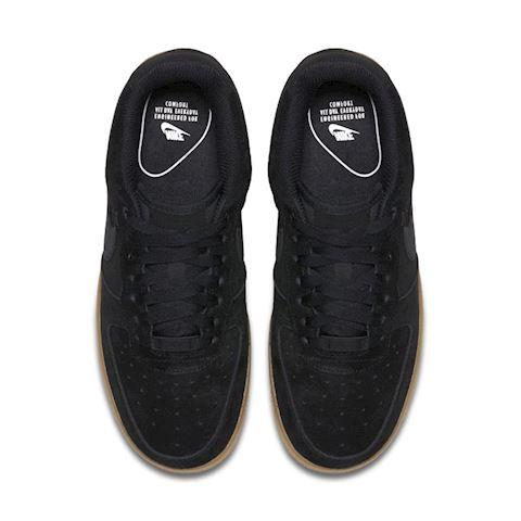 Nike Air Force 1' 07 SE Suede Women's Shoe - Black Image 4