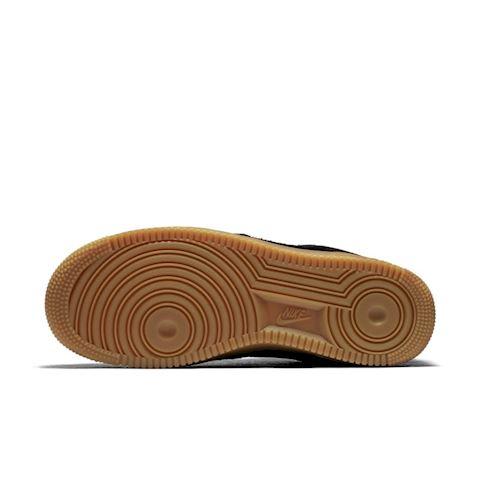 Nike Air Force 1' 07 SE Suede Women's Shoe - Black Image 5