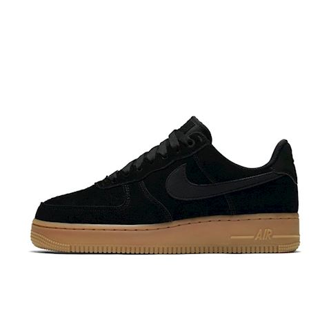 brand new c7c2f 33376 Nike Air Force 1  07 SE Suede Women s Shoe - Black Image