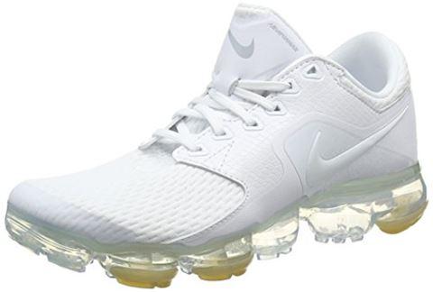 Nike Air VaporMax Older Kids'Running Shoe - White Image