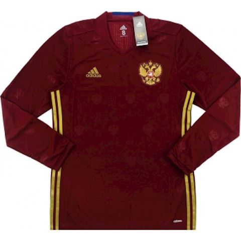 adidas Russia Mens LS Player Issue Away Shirt 2016 Image
