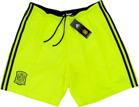 adidas Spain Mens Goalkeeper Player Issue Away Shorts 2013 Image