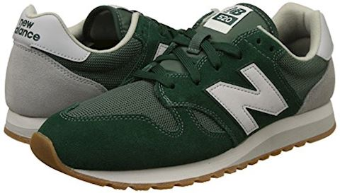 New Balance  U520  women's Shoes (Trainers) in green Image 5
