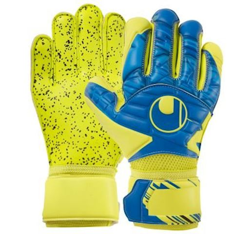 0f5167a61d1 Uhlsport Goalkeeper Gloves Lloris Supergrip - Blue/Yellow Image