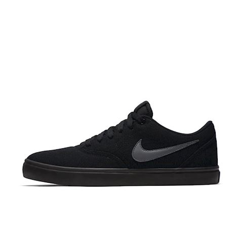 Nike SB Check Solarsoft Canvas Men's Skateboarding Shoe - Black Image