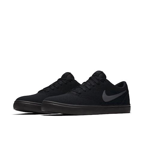 Nike SB Check Solarsoft Canvas Men's Skateboarding Shoe - Black Image 2