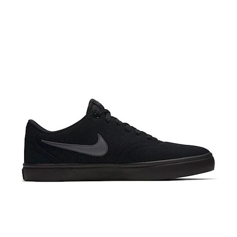 Nike SB Check Solarsoft Canvas Men's Skateboarding Shoe - Black Image 3