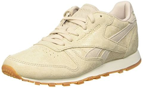 newest 63b2a eb267 Reebok Classics Womens Classic Leather Clean Exotics Trainers  Stucco Chalk Sand Stone Gum