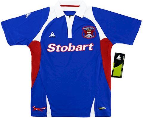 Le Coq Sportif Carlisle United Kids SS Home Shirt 2009/11 Image