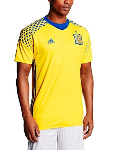 adidas Spain Mens SS Goalkeeper Away Shirt 2016 Image