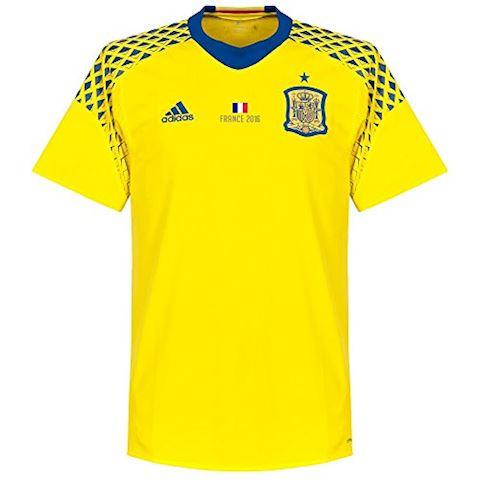 adidas Spain Mens SS Goalkeeper Away Shirt 2016 Image 3