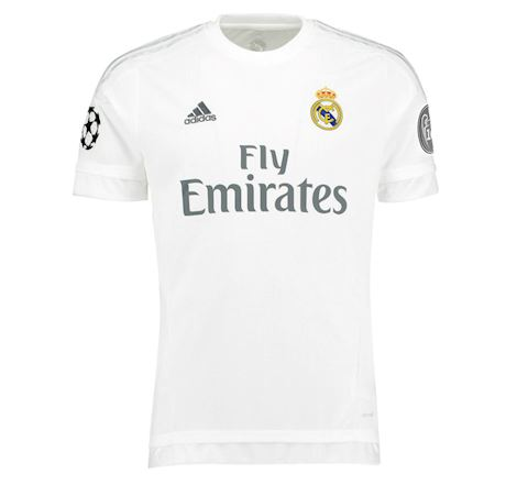 cheaper ca90f 80b2e adidas Real Madrid Mens SS Home Champions League Shirt 2015/16