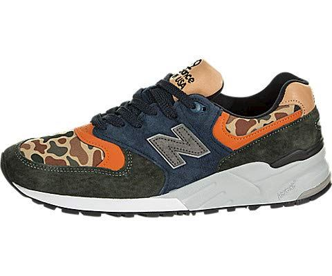 New Balance  'Duck Camo' - Made in the USA Green & Blue Image