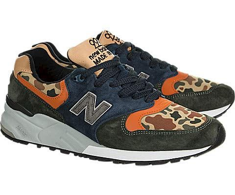 New Balance  'Duck Camo' - Made in the USA Green & Blue Image 2