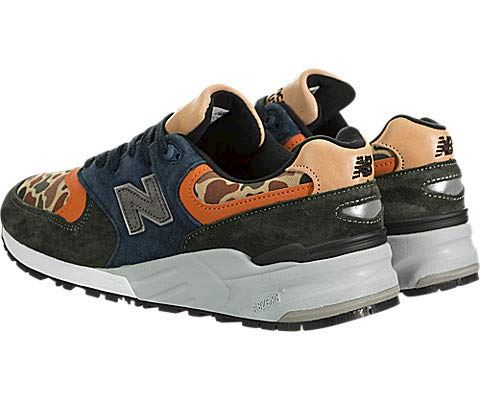 New Balance  'Duck Camo' - Made in the USA Green & Blue Image 4