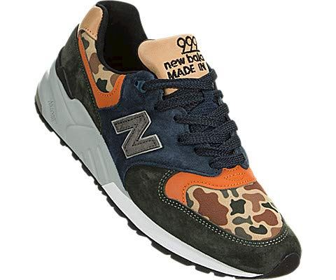 New Balance  'Duck Camo' - Made in the USA Green & Blue Image 5