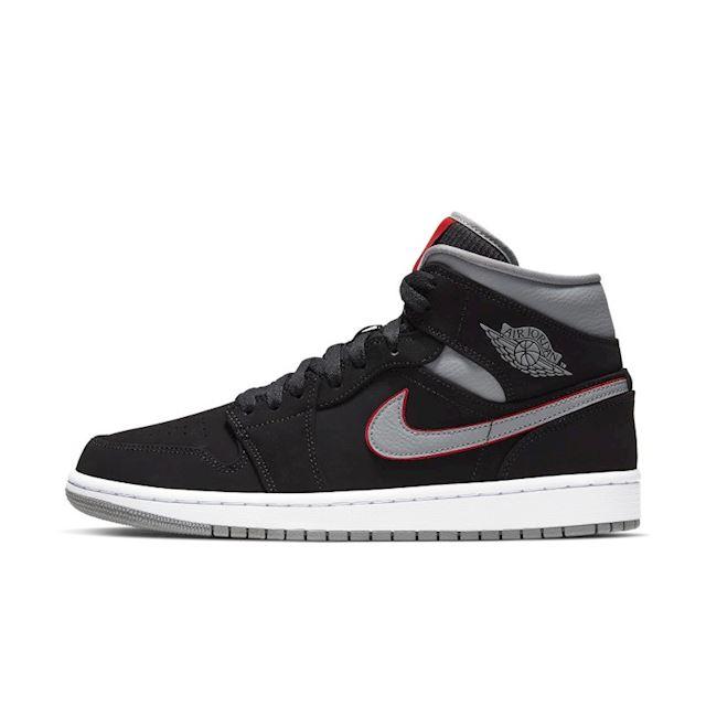online store 9f82b a38a3 Nike Air Jordan 1 Mid Men s Shoe - Black   554724-060   FOOTY.COM