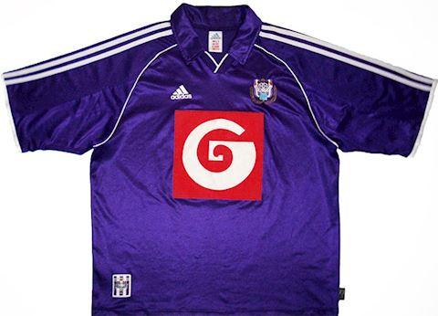 adidas Anderlecht Mens SS Away Shirt 1999/00 Image