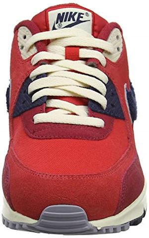 Nike Air Max 90 Premium SE Men's Shoe - Red Image 4