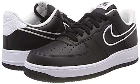 Nike Air Force 1'07 Men's Shoe - Black Image 5