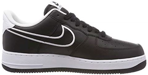 Nike Air Force 1'07 Men's Shoe - Black Image 6