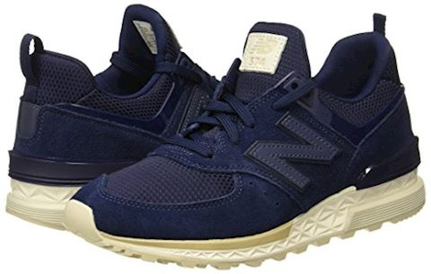 New Balance  MS574  women's Shoes (Trainers) in Blue Image 5