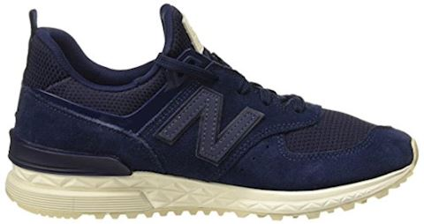 New Balance  MS574  women's Shoes (Trainers) in Blue Image 6