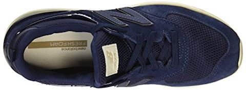 New Balance  MS574  women's Shoes (Trainers) in Blue Image 7